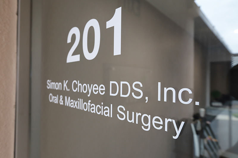 Entrance at Simon K. Choyee, DDS, Inc.